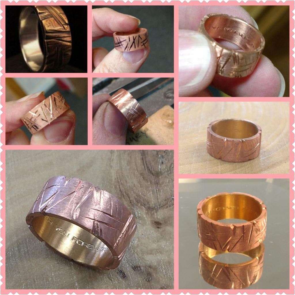 Custom Copper Crimp